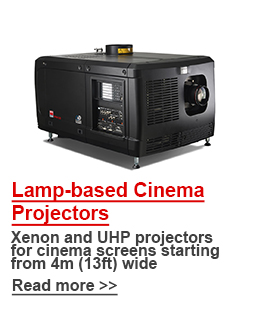 Barco Lamp-based Cinema Projectors